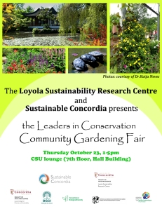 Community Gardening Fair, Leaders in Conservation